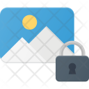 Secure photo Icon