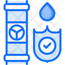 Secure pipe Icon