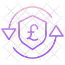 Secure Pound Transaction Icon