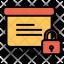Secure Presentation Board Icon