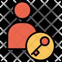 Account Key Lock Icon