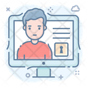 Protected User Safe Person Secure Profile Icon