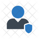 Secure Profile Employee Icon