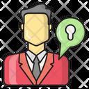 Private User Secure Icon