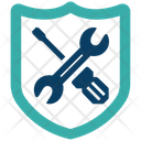 Secure Repair Secure Protection Icon