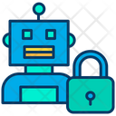 Secure Robot Icon