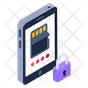 Secure Sd Card Icon