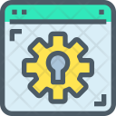 Security Setting Maintenance Icon