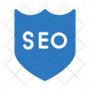 Seo Marketing Shield Icon