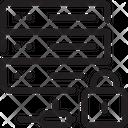 Secure Server Private Network Private Server Icon