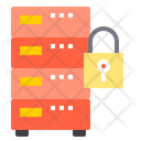 Server Security Defence Server Database Icon