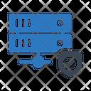 Secure Server Laptop Secure Icon
