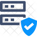 Databasev Secure Server Server Protection Icon