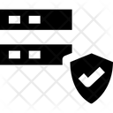 Databasev Secure Server Server Protection Icon