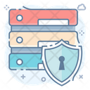 Dataserver Security Database Security Data Protection Icon