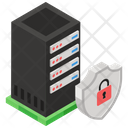 Secure Server Data Server Safety Sql Shield Icon