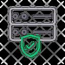 Server Security Database Icon