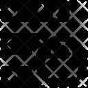 Server Unlock Unsafe Icon