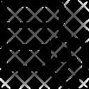 Network Database Thunder Icon
