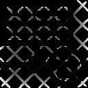 Database Lock Data Science Icon