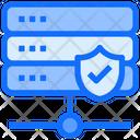Secure Server Web Hosting Database Icon