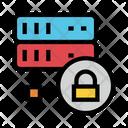 Server Storage Lock Icon