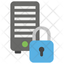 Secure Server Server Lock System Protection Icon
