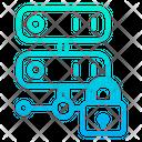 Online Data Data Storage Online Storage Icon