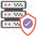 Secure Server Database Server Protected Server Icon
