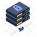 Secure Server Network Icon