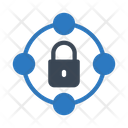 Secure Sharing Network Lock Sharing Icon