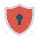 Secure Shield Lock Icon