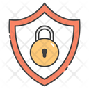 Secure Shield Safety Protection Icon