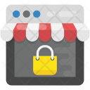 Secure Shopping Icon