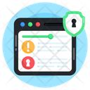 Website Security Website Protection Secure Site Icon