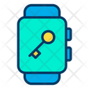 Secure Smartwatch Icon