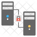 Secure System Connection Icon