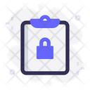 Task Security Clipboard Icon