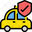Secure taxi Icon