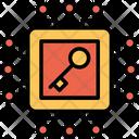 Data Key Privacy Icon