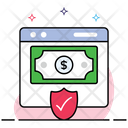 Secure Transaction Payment Security Secure Money Icon