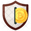 Secure Transaction Secure Payment Bitcoin Transaction Icon