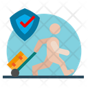 Secure Travelling Icon