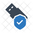 Secure Usb Icon