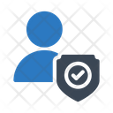 Secure Profile Account Icon