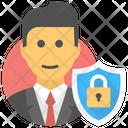 Secure User Shield User Icon