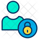 User Avatar Secure Icon