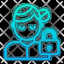 User Profile Lock User Icon