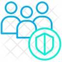 Group Network Shield Icon