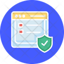 Secure Web Site Security Website Firewall Icon